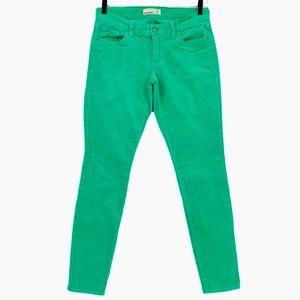 Old Navy Rockstar Corduroy Pants - Green Goddess